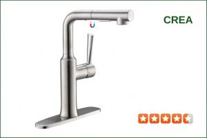 CREA 40240 Pull-Out Kitchen Faucet