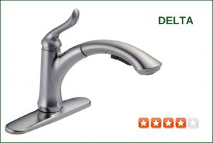 Delta 4353-AR-DST Pull-Out Kitchen Faucet