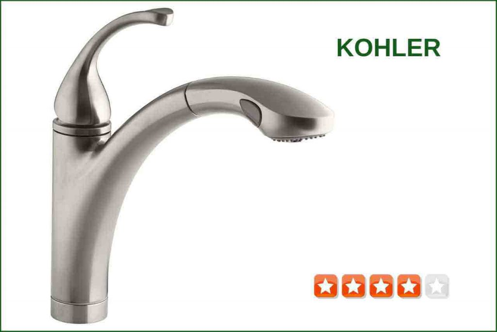 KOHLER K-10433- Pull-Out Kitchen Faucet