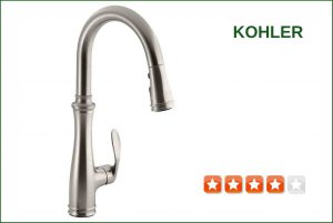 Kohler K-560-VS Pull-Down Kitchen Faucet