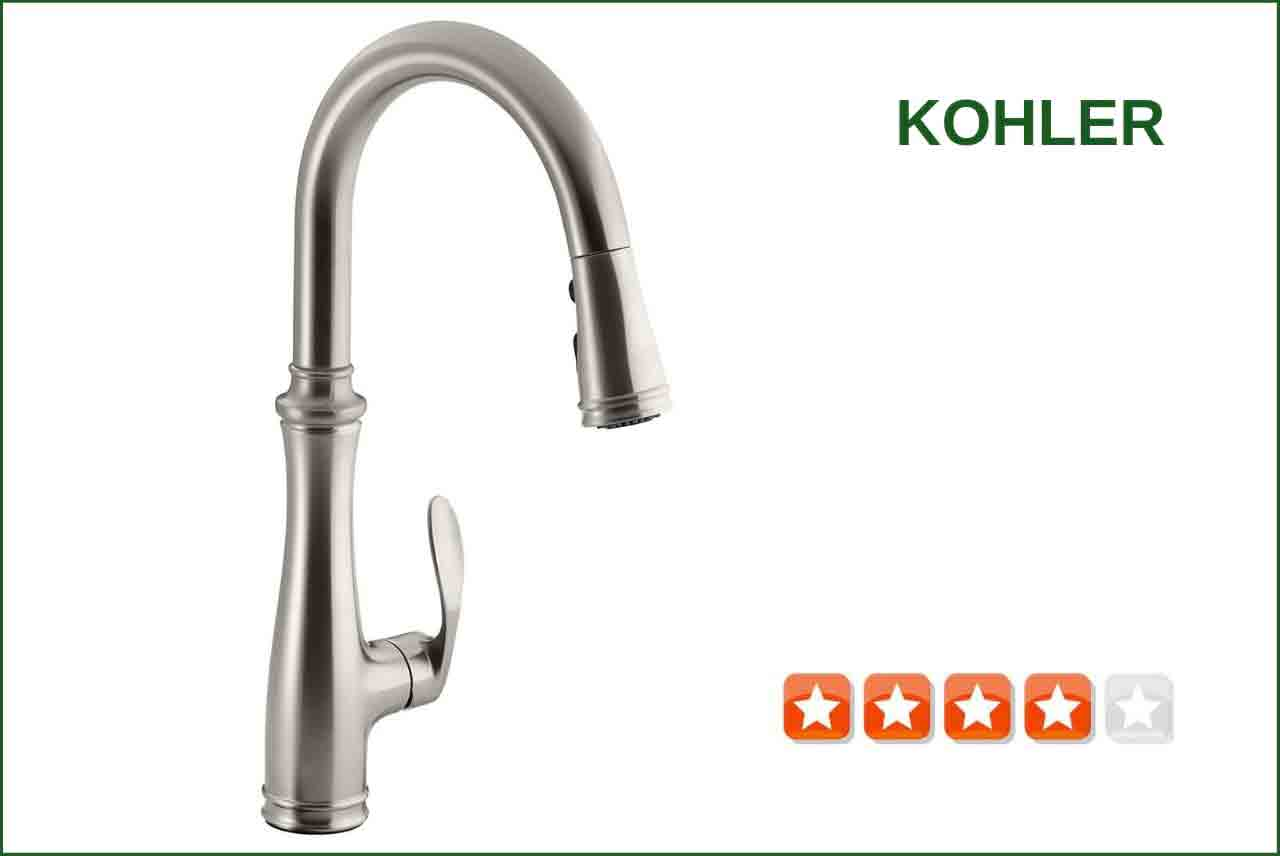 Kohler K 560 Vs Pull Down Kitchen Faucet Best Reviews