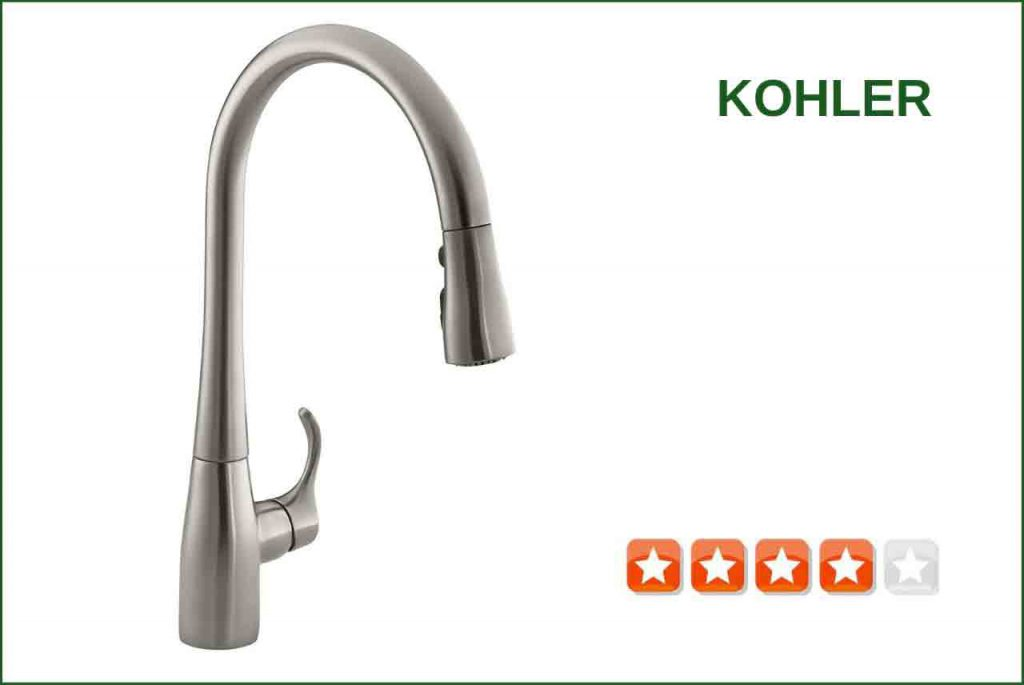 Kohler K 596 Vs Pull Down Kitchen Faucet Best Reviews