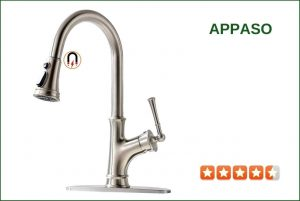 APPASO K133-BN Pull Down Kitchen Faucet