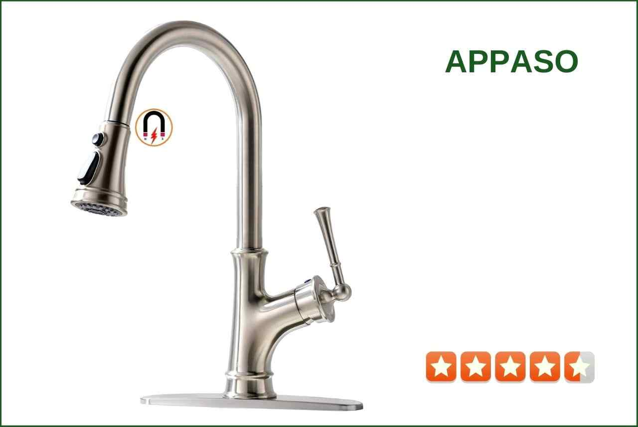 Vapsint YFT010L-Child Pull-Down kitchen Faucet