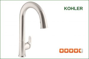 Kohler K-72218-VS Touchless Kitchen Faucet