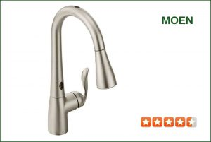 Moen 7594ESRS Pull-Down Kitchen Faucet