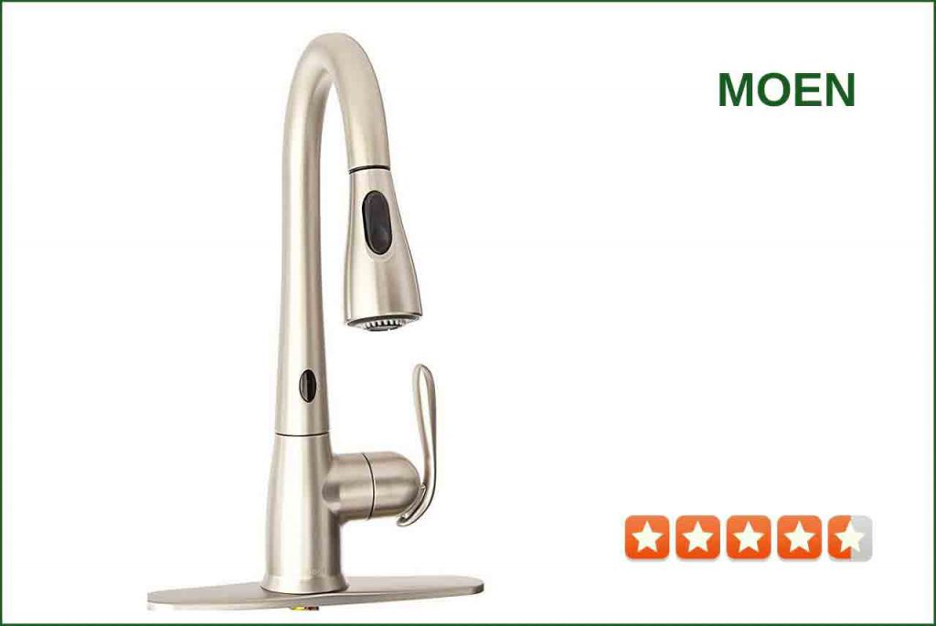 Moen 87350ESRS Touchless Kitchen Faucet