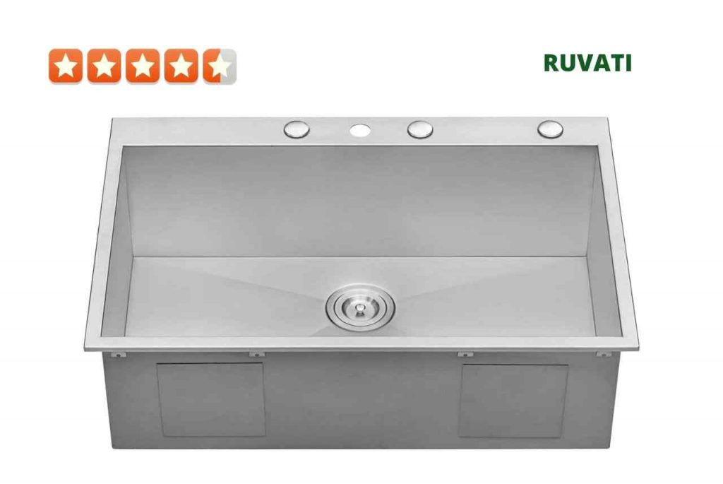 Ruvati RVH8001 Single Bowl kitchen Sink