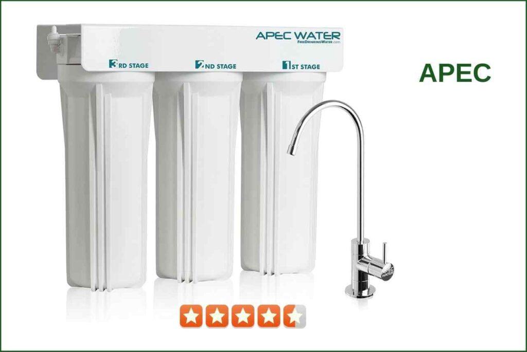 APEC WFS-1000 3-Stage Water Filter