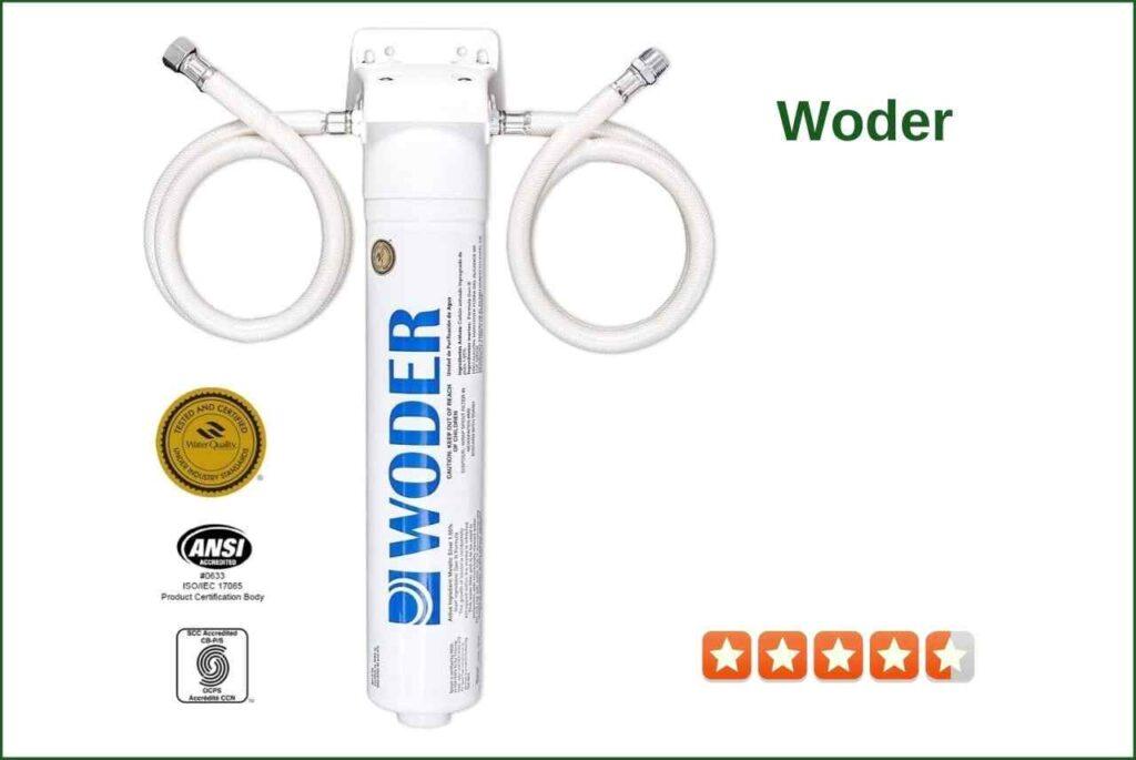 Woder WD-S-8K-DC 10K Ultra Undersink filter