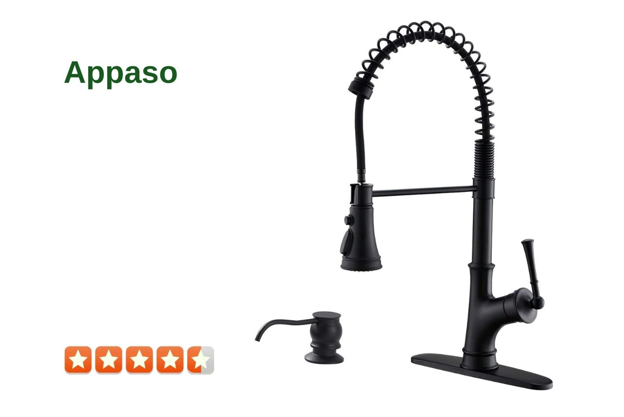 APPASO 138MB Commercial Kitchen Faucet