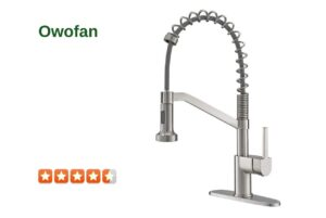 OWOFAN 9009RSN Commercial Kitchen Faucet