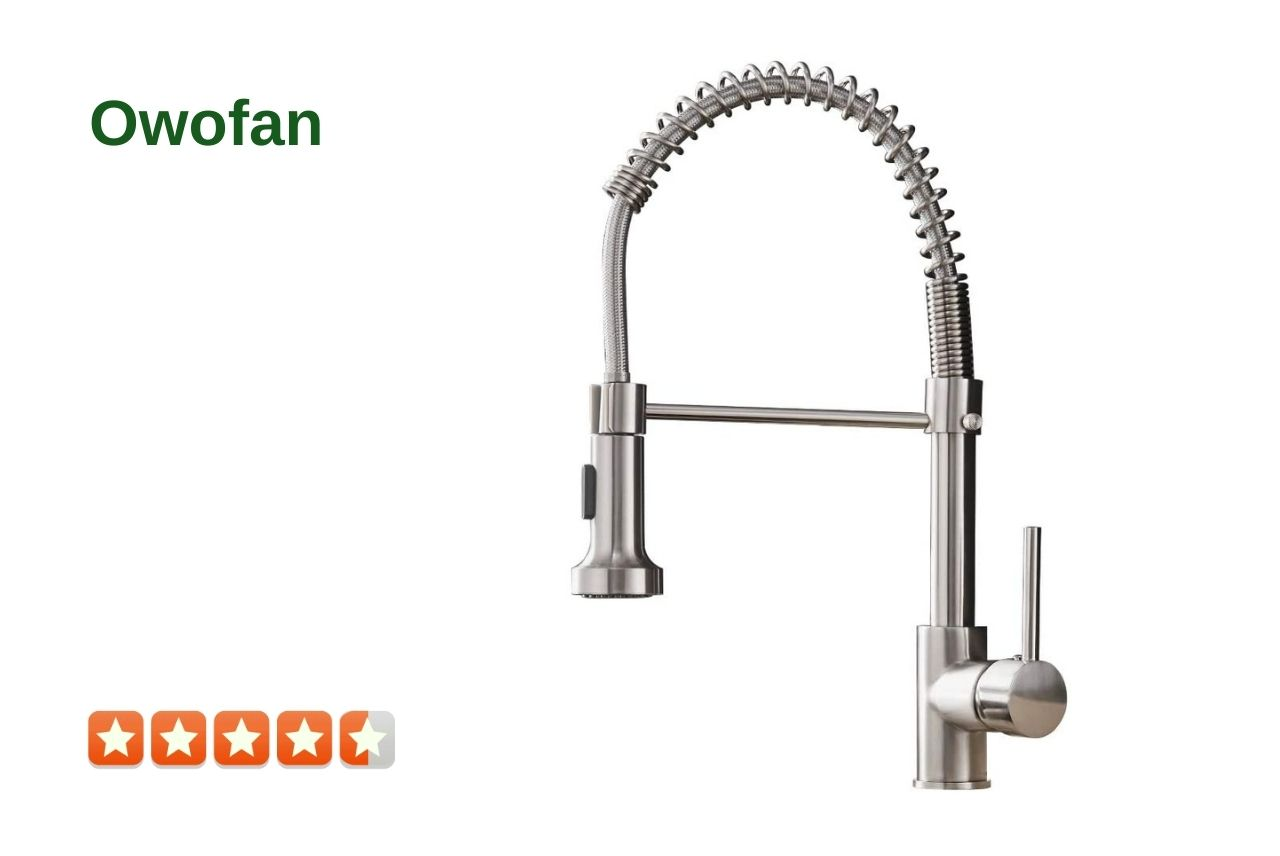 OWOFAN 9009SN-A Commercial Kitchen Faucet