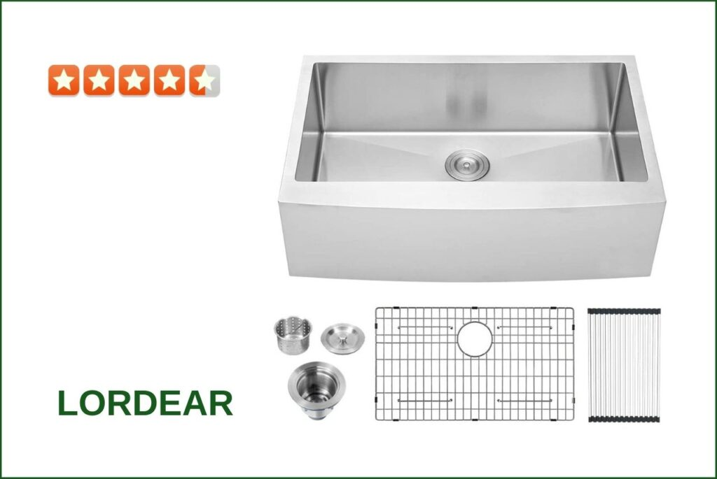 Lordear LAB3321R1 Farmhouse Sink