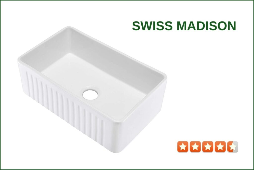 Swiss Madison SM-KS243 Farmhouse Sink