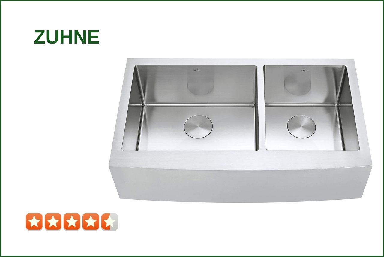 ZUHNE Turin-36 Farmhouse Sink​