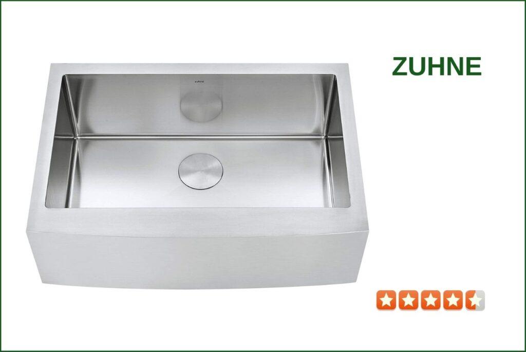ZUHNE C8-3LUD-1U13 Farmhouse Sink For 30 Inch Cabinet