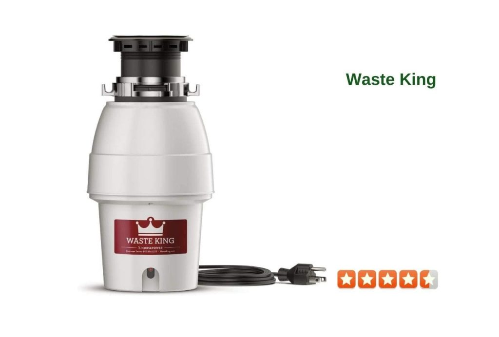 Waste King 12 HP Garbage Disposal with Power Cord