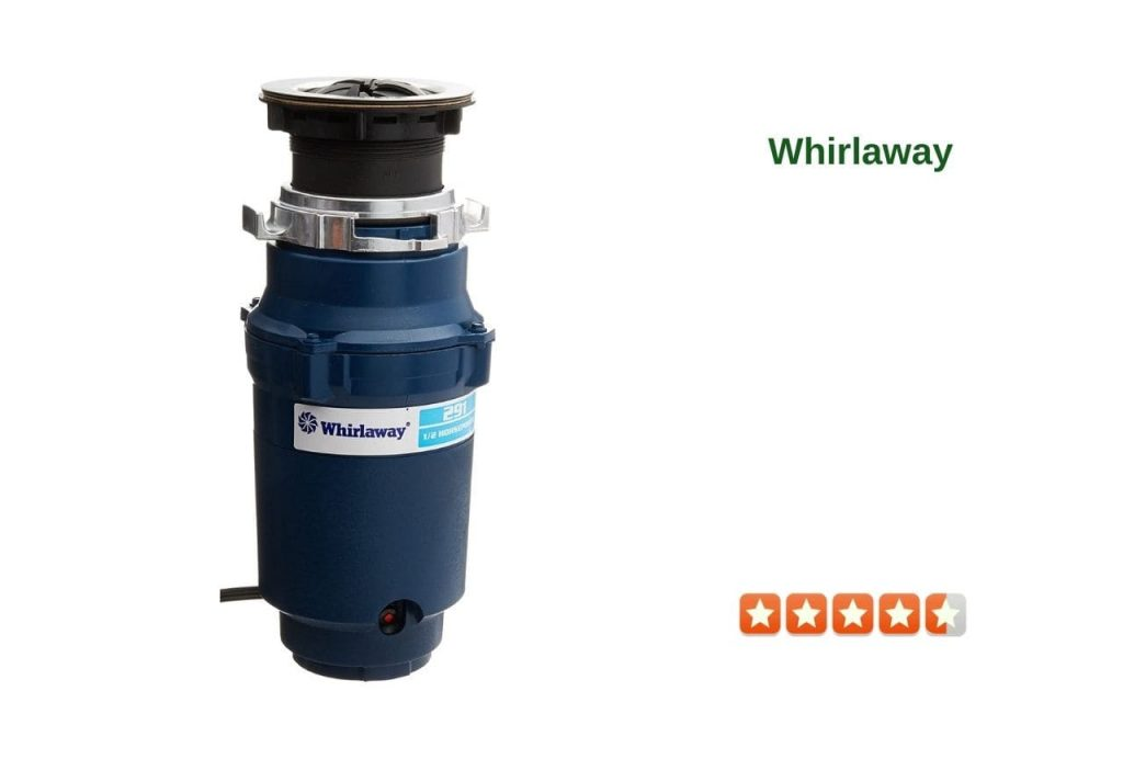 Whirlaway 291 12 Horsepower Garbage Disposer with Power Cord